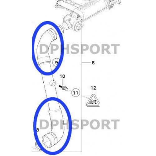 BMW E60, E61 5 SERIES 530d, 525d, 535d SILICONE INTERCOOLER EGR