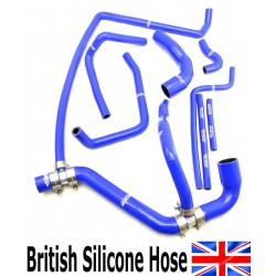 LAND ROVER DEFENDER 300 Tdi FULL COOLANT RADIATOR WATER SILICONE HOSE KIT